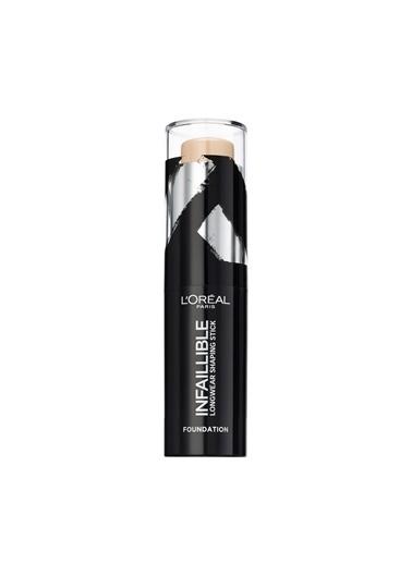 L'Oréal Paris Infaillible Shaping Stick Fondöten 160 Sand Ten